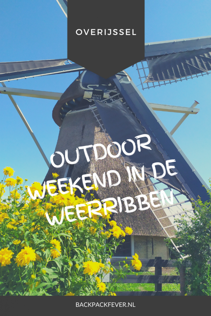 Pin it! Outdoor weekend in de Weerribben
