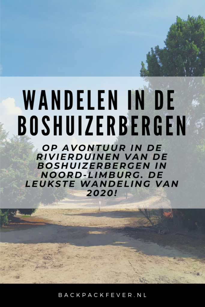 Pin it! Op avontuur in de rivierduinen van de Boshuizerbergen in Noord-Limburg