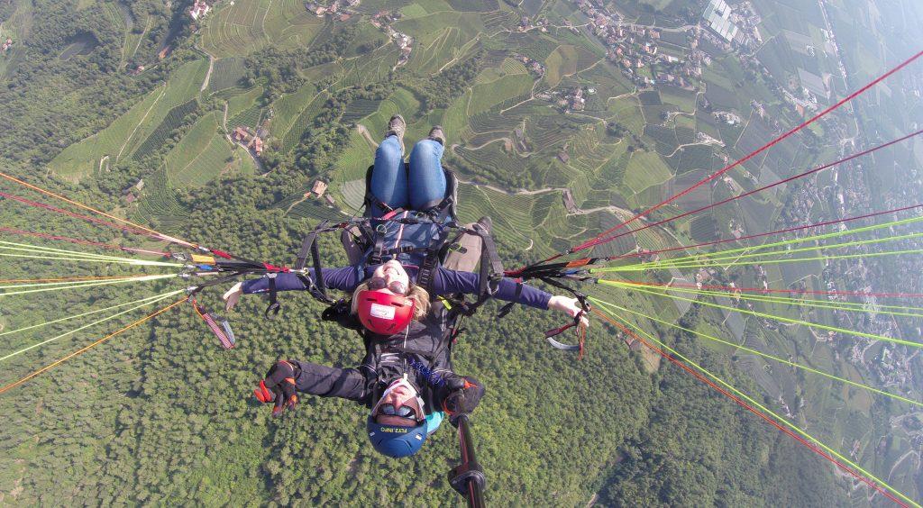 Paragliden Vigiljoch   Etschtal   Lana   Vakantie in Zuid Tirol