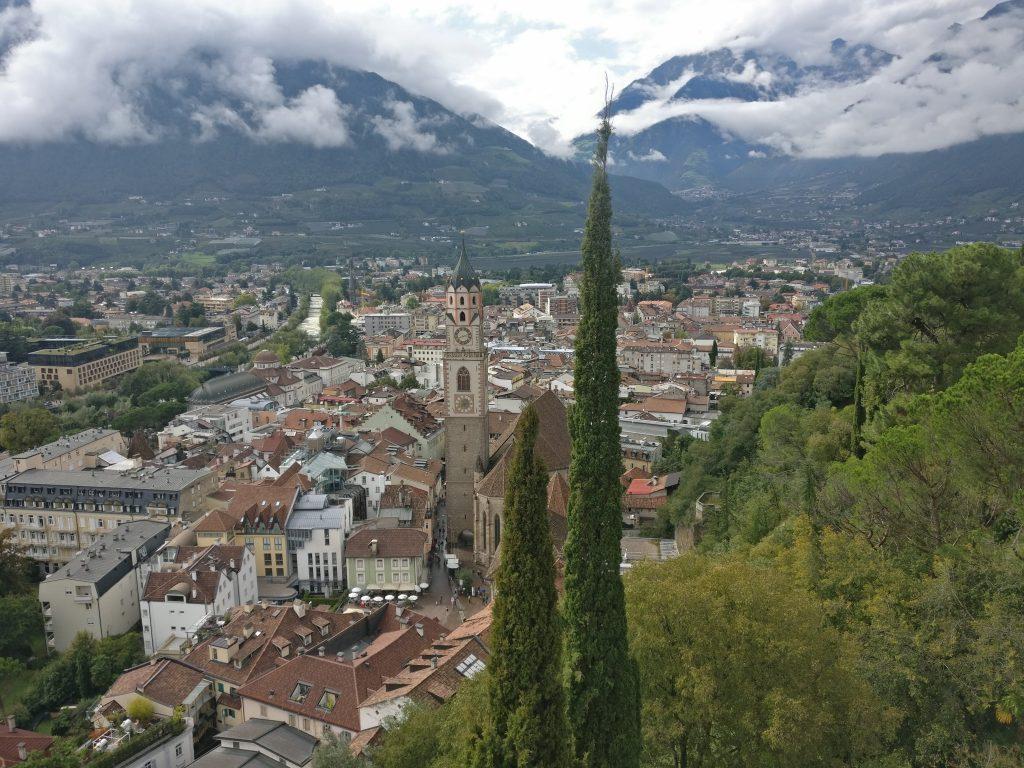 Uitzicht op Meran | Merano | stadspanorama