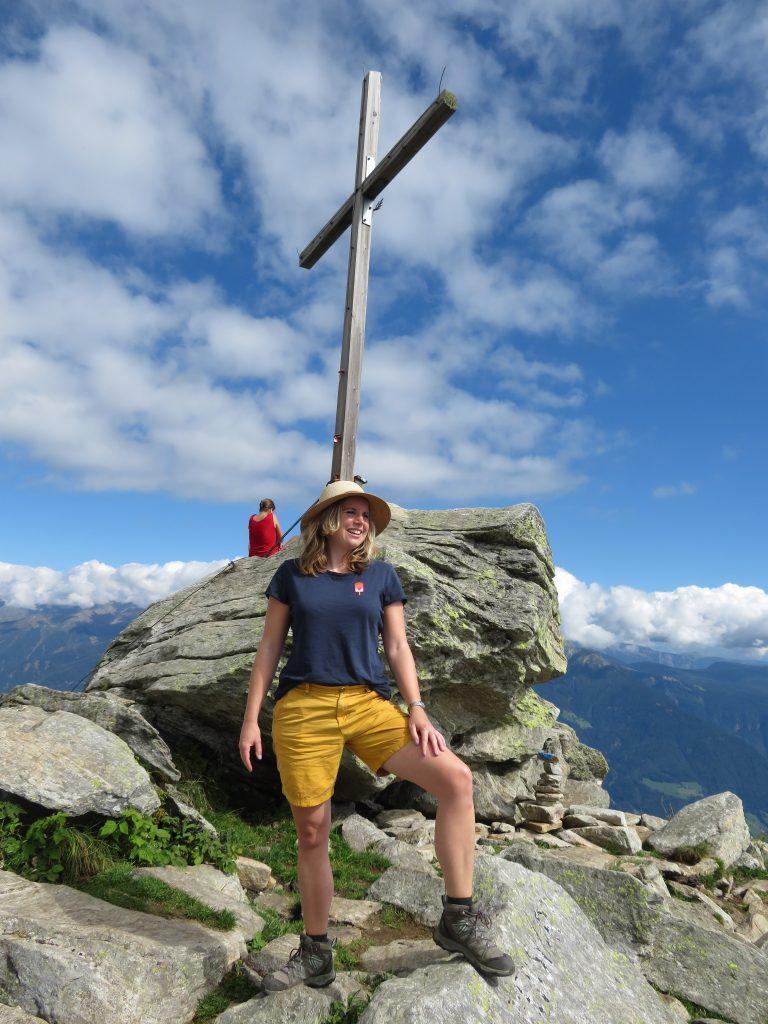 Mutspitze | Gipfelkreuz | Dorf Tirolo | Meraner Land | Zuid Tirol