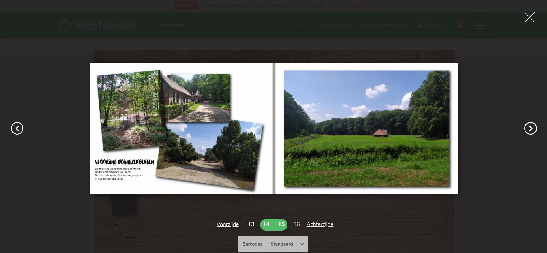 Fotofabriek review | digitaal voorbeeld