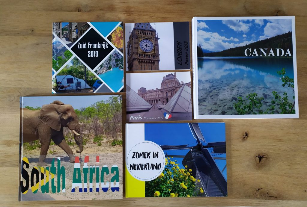 Fotoboek maken | Vakantie napret | Reisfotoboek