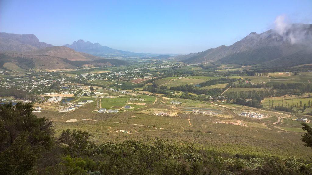 Fransschoek | Uitzicht | Zuid Afrika | West Kaap