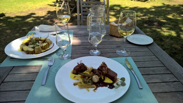 Geluksmoment: Lekker luxe lunchen in Franschhoek Zuid Afrika