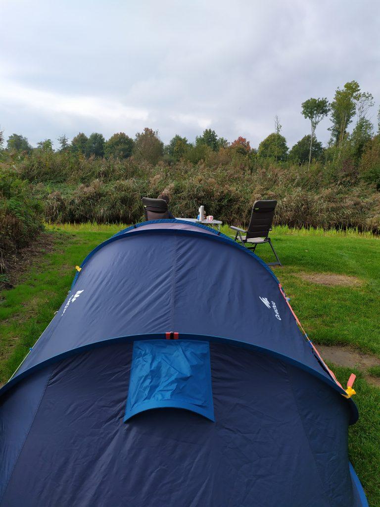 Kamperen in de herfst | Landgoed de Wielewaal | Flevoland