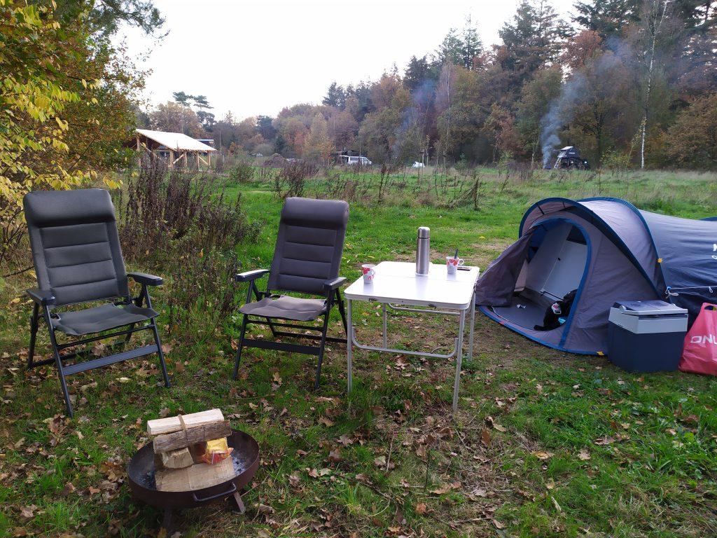 Kamperen in de herfst | Natuurkampeerterrein de Klashorst
