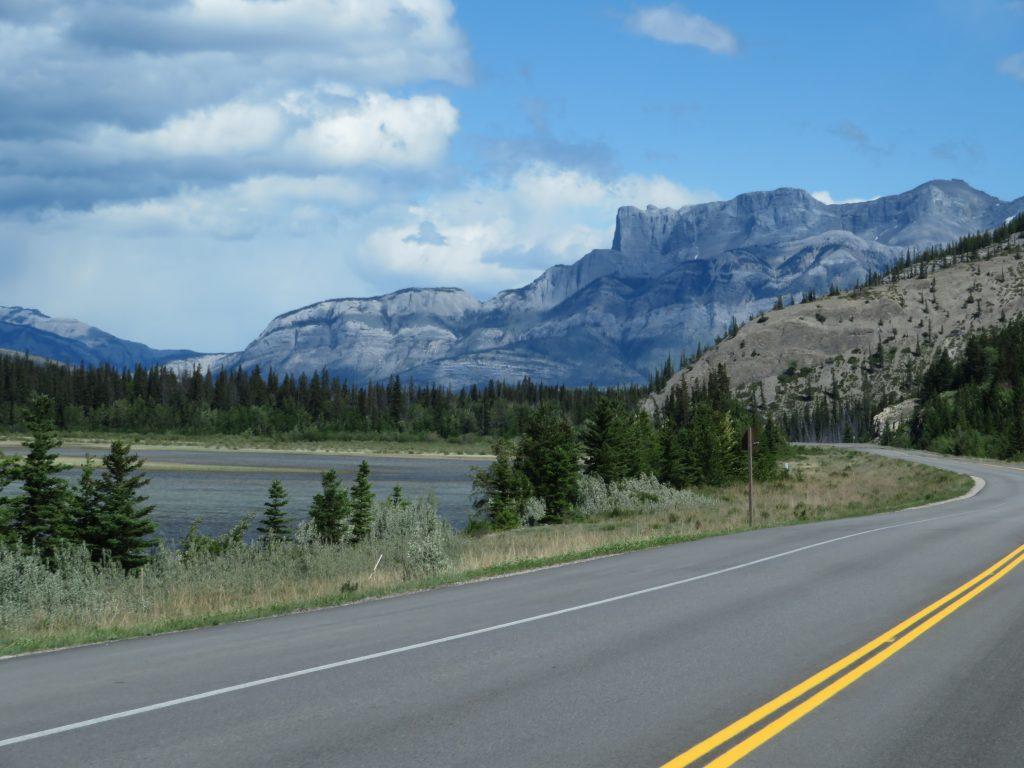 Canadese Rockies | De weg naar Miette Hot Springs