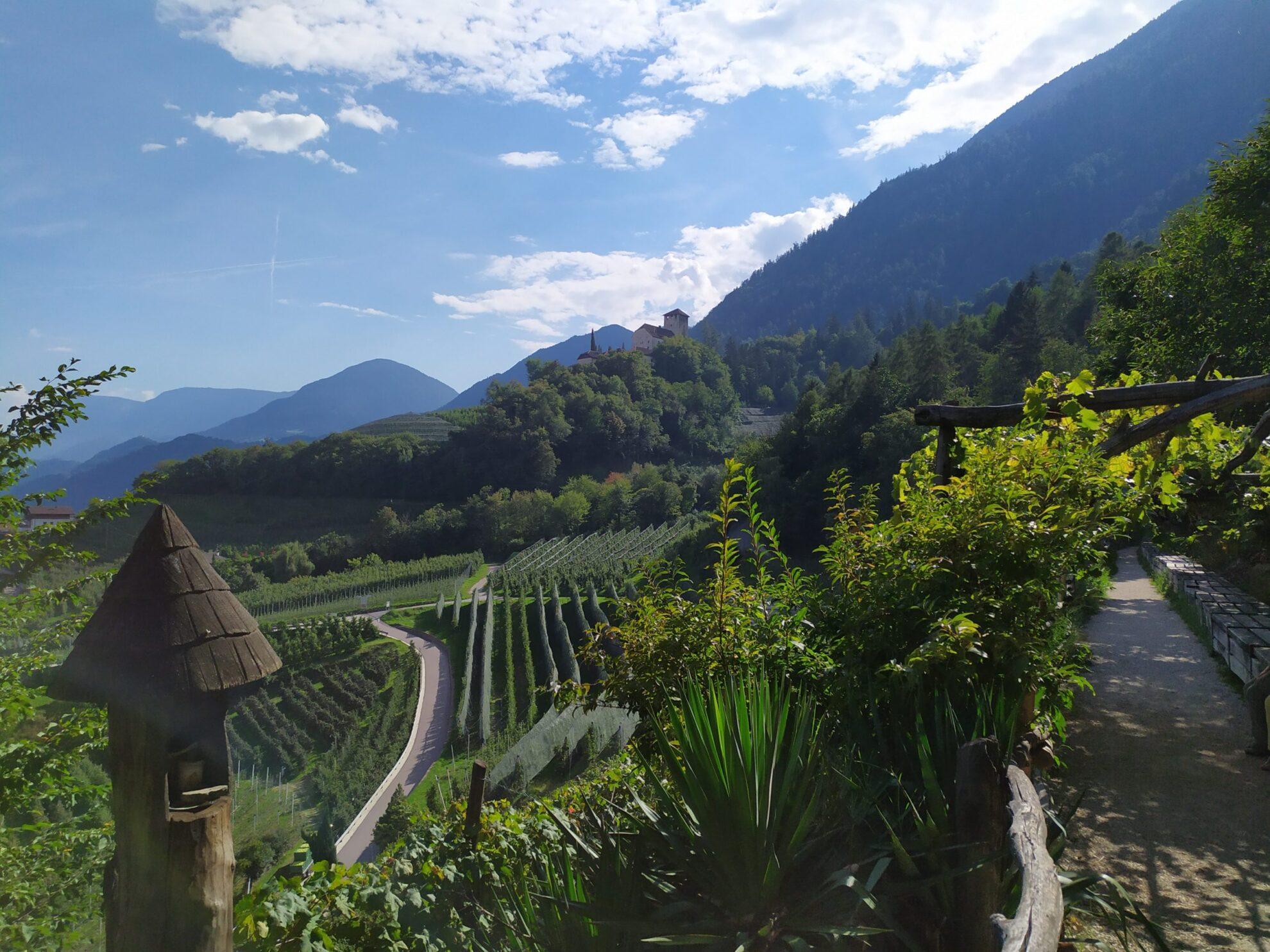 Proef Zuid Tirol | appels en druiven | Marlinger Waalweg