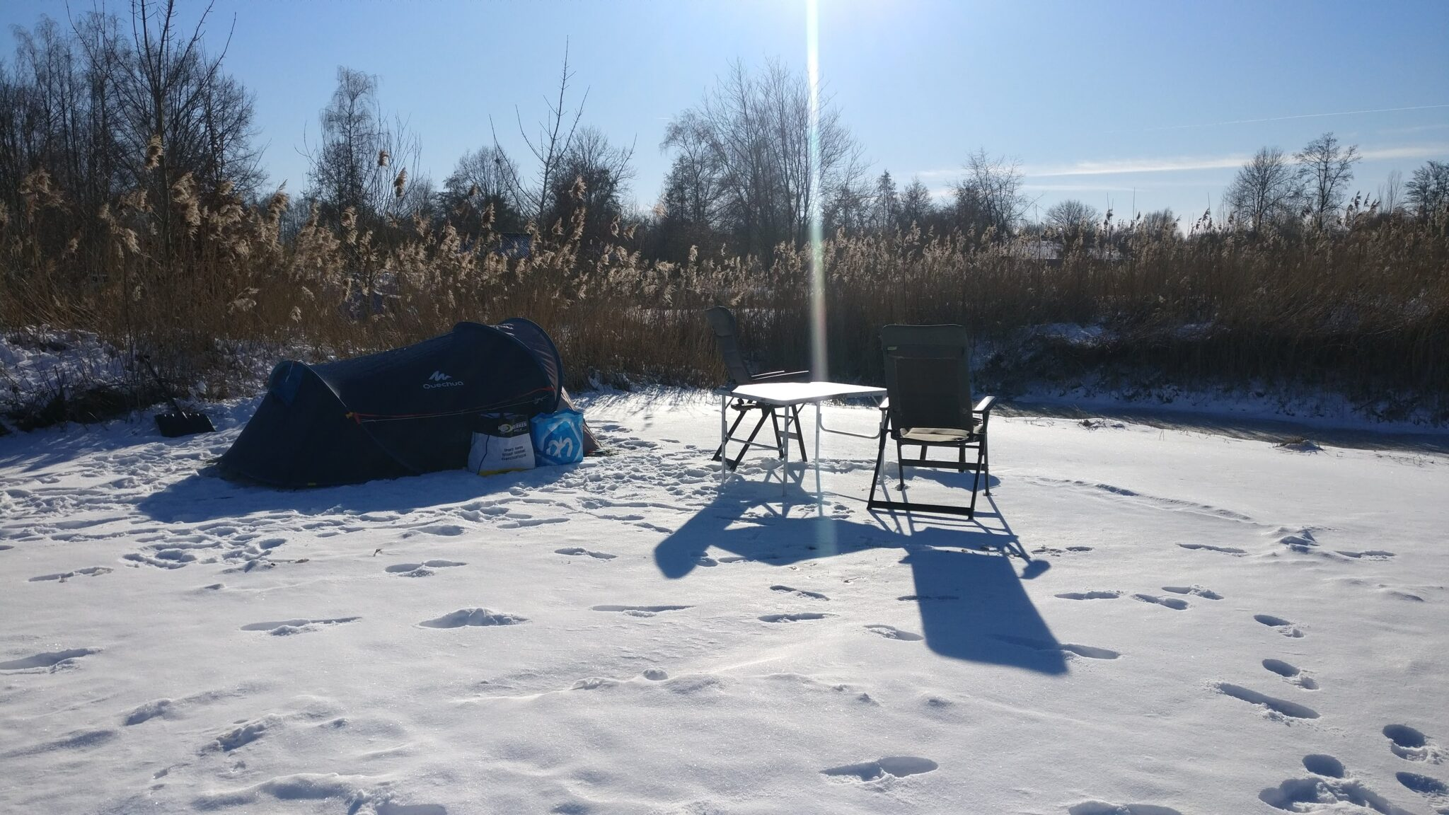 Pop-up avonturen: Winterkamperen en wintersporten in Nederland