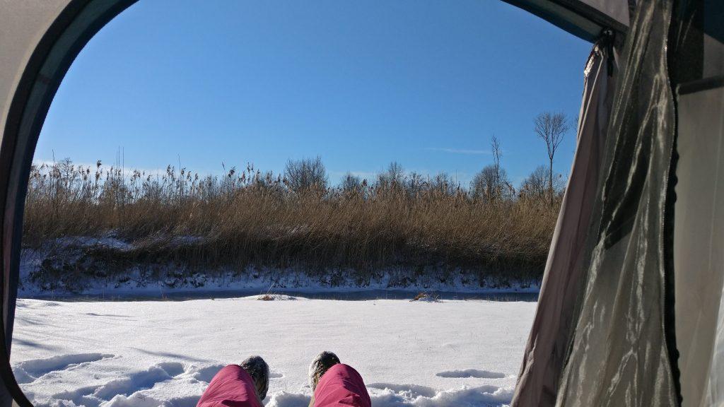 Winterkamperen | Het sneeuwt in de tent