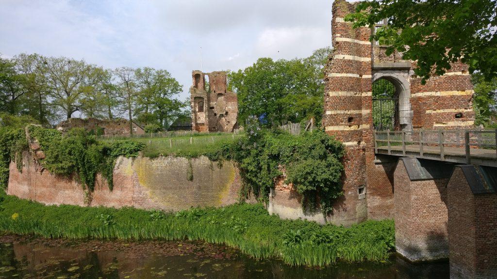 Kasteelruïne Batenburg Land van Maas en Waal