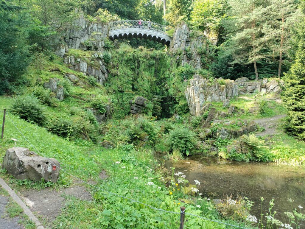 Teufelsbrücke   Bergpark Wilhelmshöhe Kassel