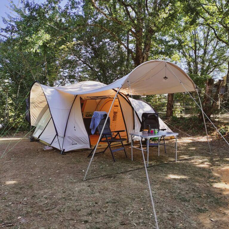Kamperen in de Dordogne met de tent