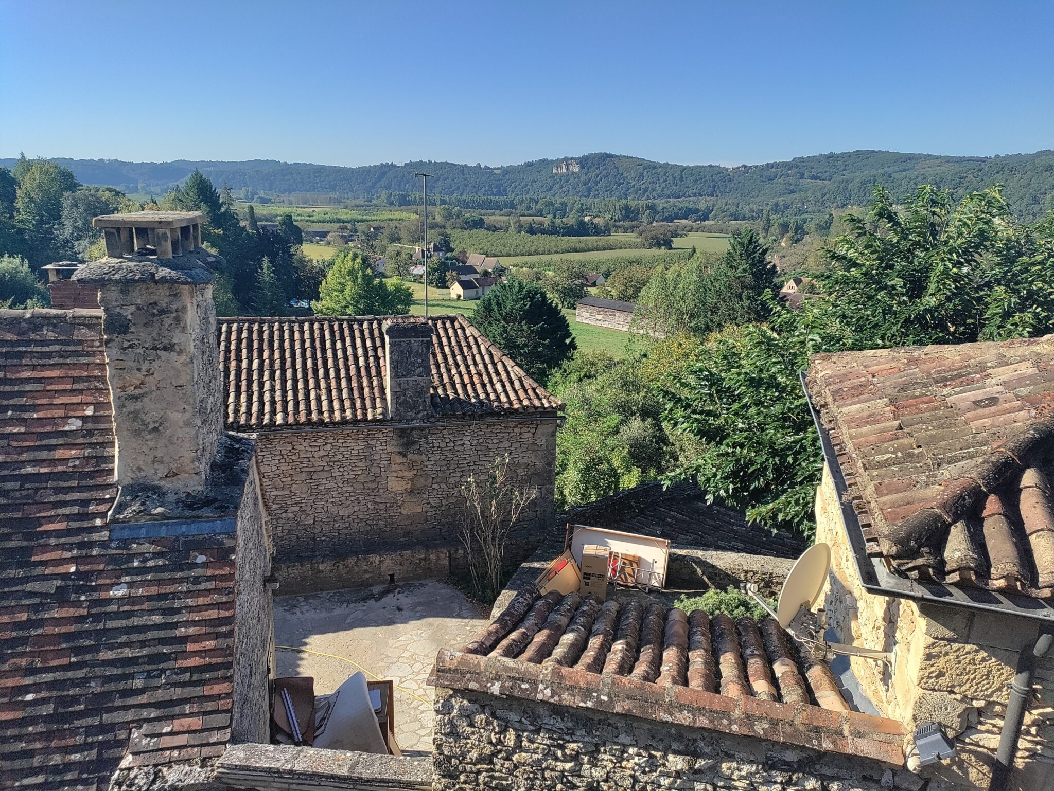 La Roque-Gageac uitzicht