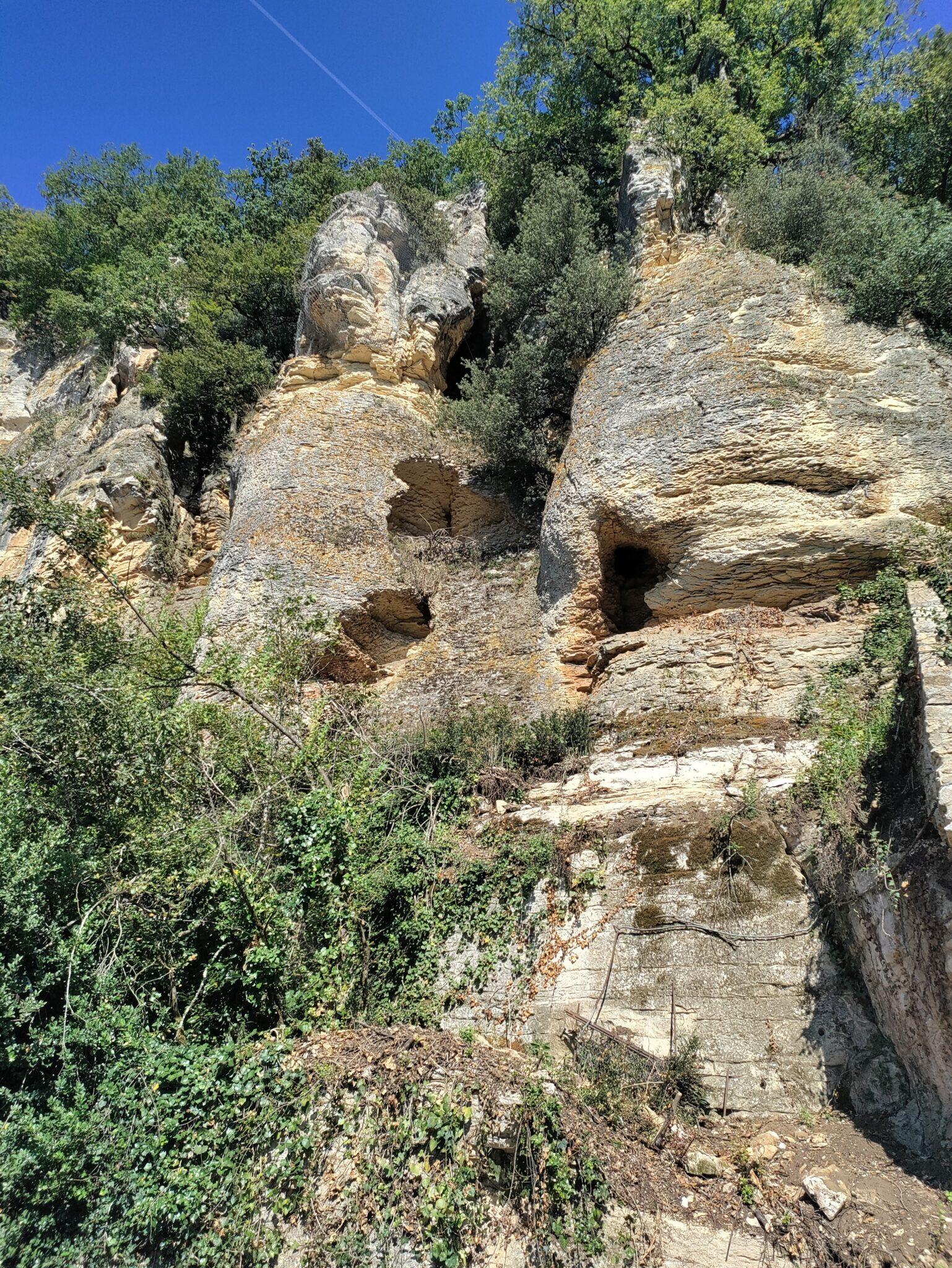 Krijtrotsen Dordogne