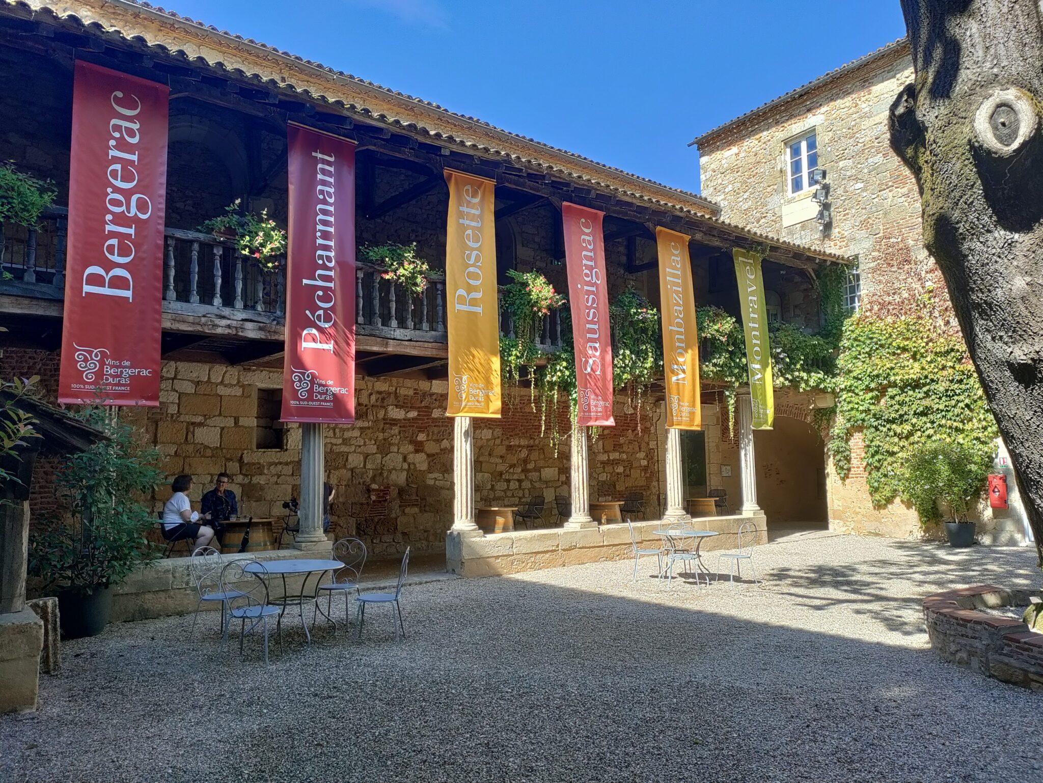 Het Maisons des Vins in Bergerac